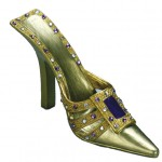 "Chaussure miniature ""goldy"" cp089"
